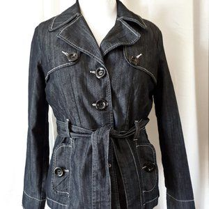 *2/$14* Baccini Denim Jacket Size Large